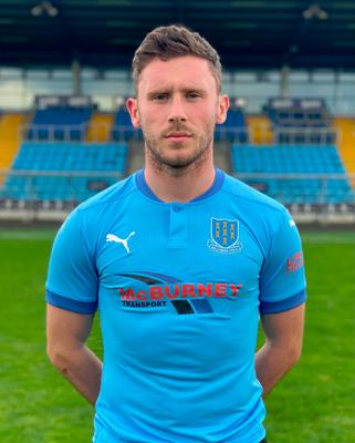 UNITED EFFORT: Shay McCartan rejected full-time deals in England to sign up for Ballymena