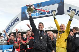 Stephen Baxter took charge of Crusaders almost 15 years ago and has turned the club from relegation into a trophy-winning machine.