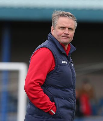 Colin Nixon as yet to lead his Dundela side in a competitive game, having taken over as manager back in July.