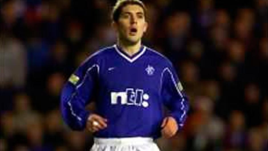 Stephen Carson while at Rangers