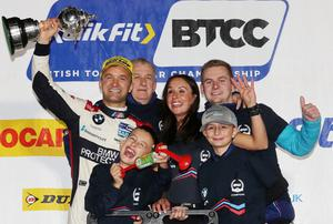 Colin Turkington is hoping he has plenty more success still to celebrate with family.