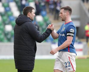 David Healy is predicting big things for Jamie Mulgrew beyond the Linfield captain's playing days