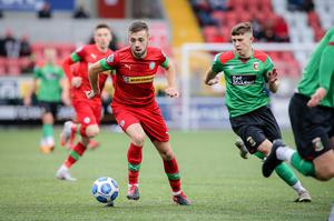 Conor McMenamin's move to Glentoran suggests the Irish League is better off than we think it might be