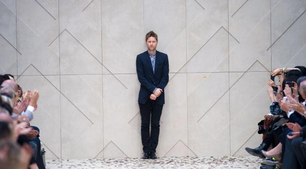 Burberry boss Christopher Bailey