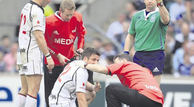 Painful end: Ian Humphreys' last spell with Ulster ended in disappointment in the Heineken Cup Final