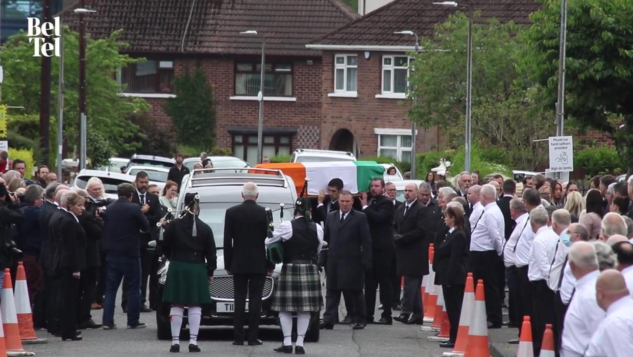 Tale of two funerals: Lisburn woman's mum buried alone on day crowds gathered for Bobby Storey