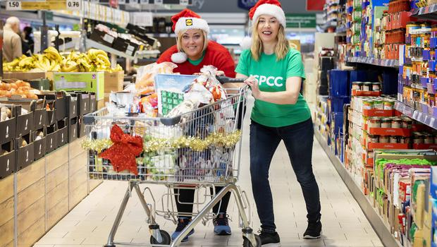 Joanne McMaster, NSPCC Fundraiser and Angela Connan, Lidl Northern Ireland's Corporate Social Responsibility Manager, launching the Lidl Trolley Dash 2018. Lidl Northern Ireland is giving away up to £10,000 worth of free shopping this December as part of a major festive fundraiser for its charity partner, NSPCC Northern Ireland. The Lidl Christmas Trolley Dash gives customers the chance to win their entire 'big Christmas shop' – for the price of a £1 ticket, with all ticket sales going directly to NSPCC Northern Ireland. For more information about how to get involved and for competition terms and conditions, please go to www.lidl-ni.co.uk/trolleydashterms