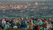 A walk in memory of Noah Donohoe takes place on Cavehill in North Belfast on June 21, 2021 (Photo by Kevin Scott for Belfast Telegraph)
