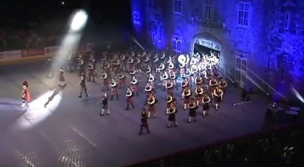 The Belfast Tattoo 2013 at the Odyssey Arena