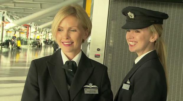 Sisters Cliodhna Duggan (35) and Aoife Duggan (27) from Dublin, are both British Airways pilots.