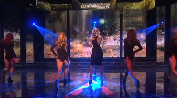 Racy dance routine on The Voice of Ireland shocks viewers
