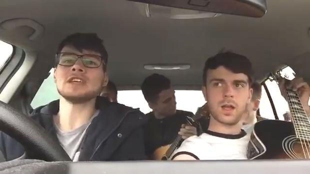 Video: Five Longford lads are going viral thanks to their