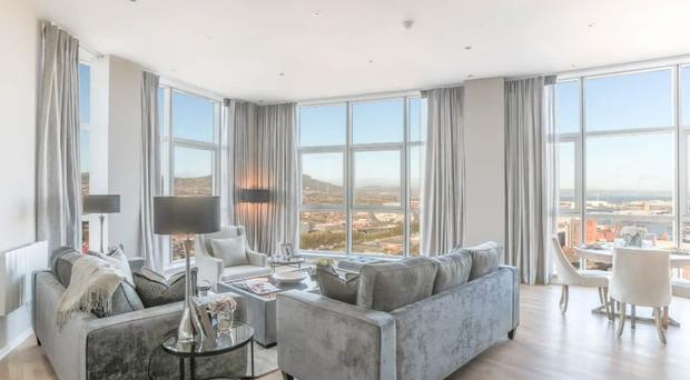 Video: A look inside stunning Obel Tower apartment in ...