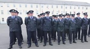 The gardaí has challenged the PSNI to a 'running man' dance off