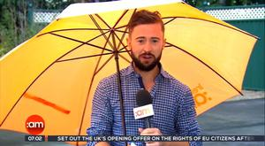 TV3 weatherman Deric Hartigan. (TV3/Ireland AM)