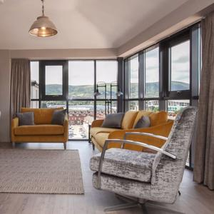 Chic warehouse-style apartment on Belfast's Windsor Road