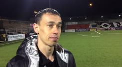 Paul Heatley discusses his goal, an important three points and Jordan Forsythe.