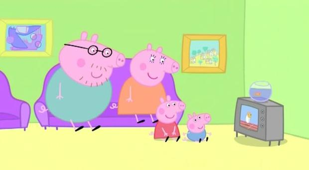 Peppa pig has been blamed for raising expectations of medical care.