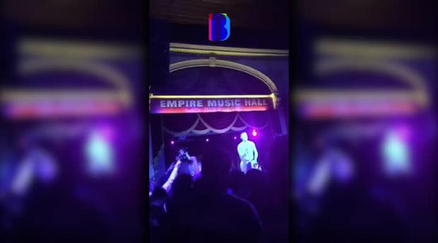 Watch: Belfast rappers chant 'Brits out' at Empire following