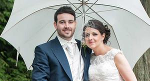 Lauren and Conor Hogan were married at St Anne's Church in Dunmurry with a reception at the Ramada Shaw's Bridge after. Picture Sam McDermott